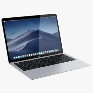 3D apple macbook air 13-inch model