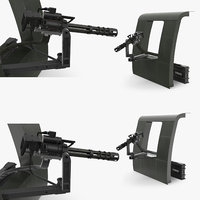 3D m134 helicopter mount