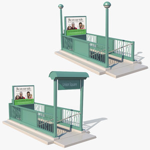 3ds nyc subway entrance