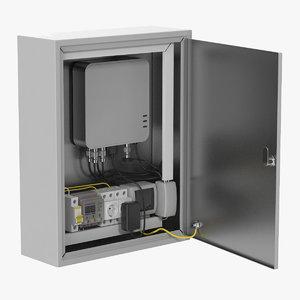 box electric 3D model