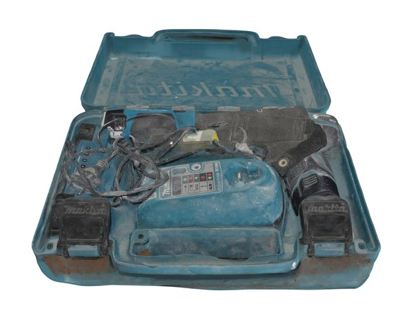 3D model screwdriver suitcase