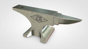 anvil tool 3D model
