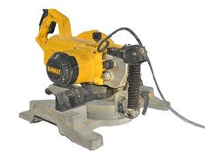 3D electric saw model