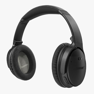 bose quiet comfort wireless 3D model