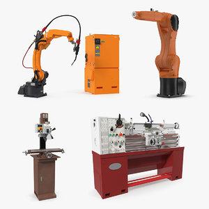 factory equipment 3D