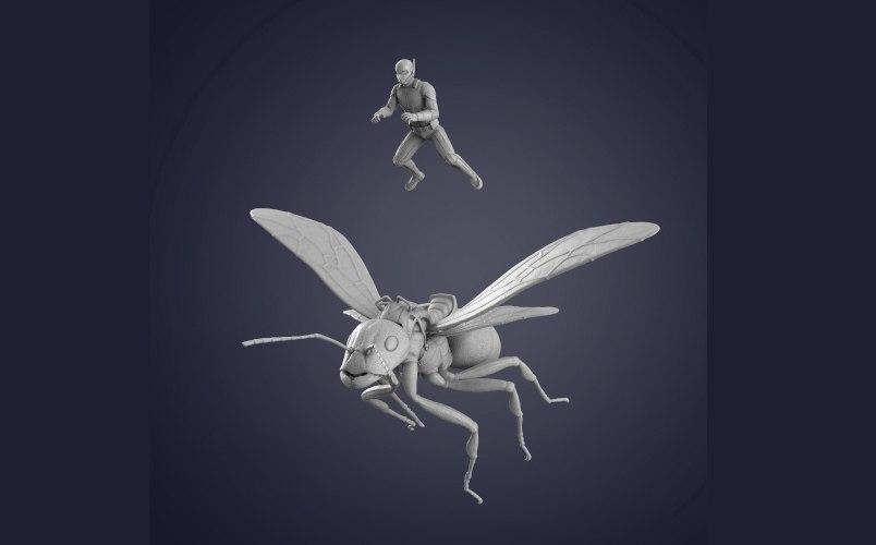 3D ant man printing model