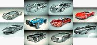 10 1 cool car 3D model