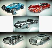 5 1 cool car 3D model