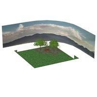 backyard poser 3D
