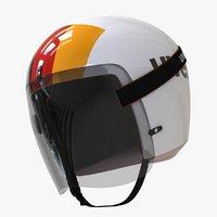 3D helmet luger model
