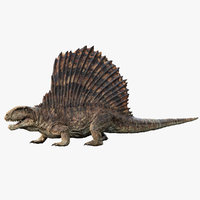 Dimetrodon (Rigged)