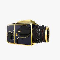 3D photo camera model