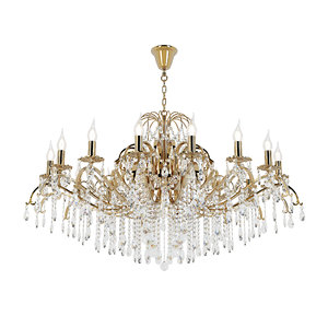 chandelier alessandria e 1 3D model