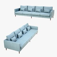 lightwave sofa lobelior 3D model