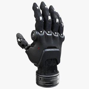 cyber hand 3D model