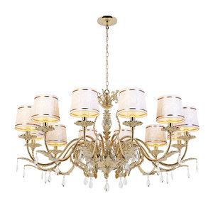 chandelier firenze e 1 3D model