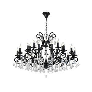 3D chandelier isola e 1 model