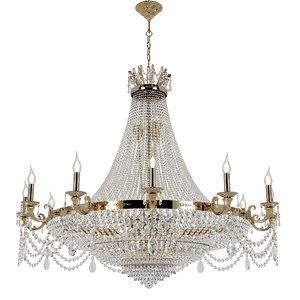 3D model chandelier lodi e 1