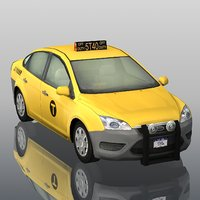 generic new york city 3D model