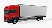 mercedes truck vehicle 3D model