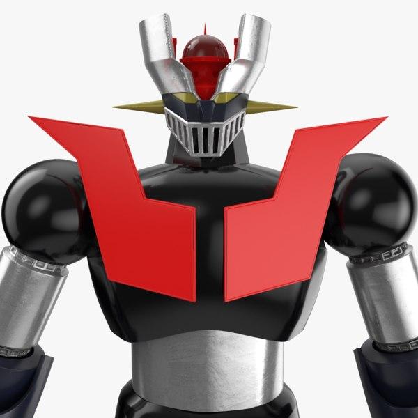 mazinger robot model