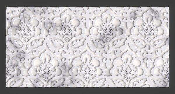 3D panel interior decoring model