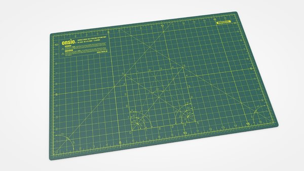 3D model cutting mat