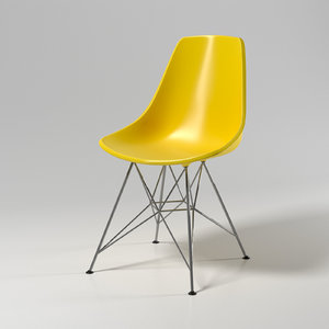 3D eames chair model
