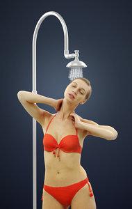 andrea bikini refreshing 3D
