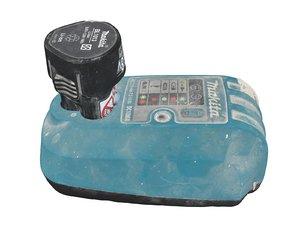 3D battery screwdriver