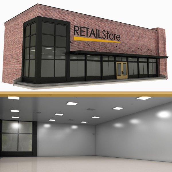 retail store 3D