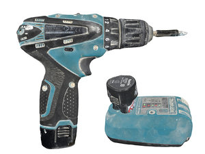 3D electric screwdriver pack