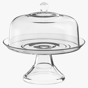 cake pie stand 03 3D