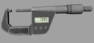 micro meter 3D model