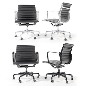eames aluminum group management 3D model