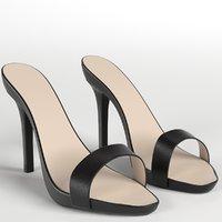 heeled sandals 1 model