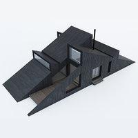 vindheim cabin 3D