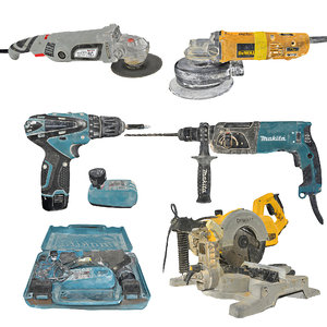 3D electric tools pack photorealistic