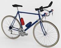 racing bicycle 3D