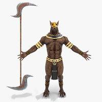 3D egypt god