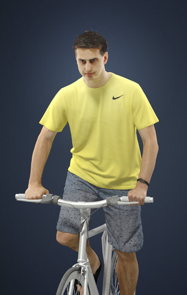 foreground people casual 3D model