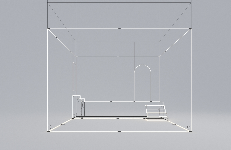 abstract sculpture uberti 3D model