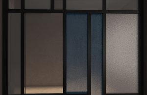 3D glass partition