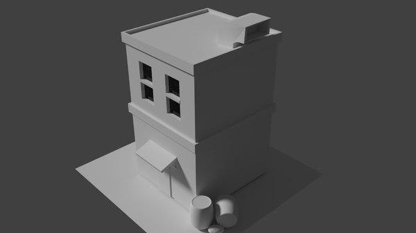 3D model casa