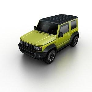 3D model 2018 suzuki jimny