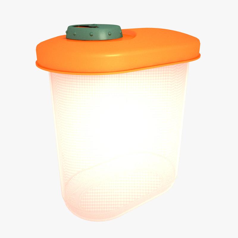 sugar container 3D model