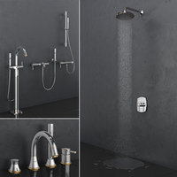 bath shower faucets grohe model