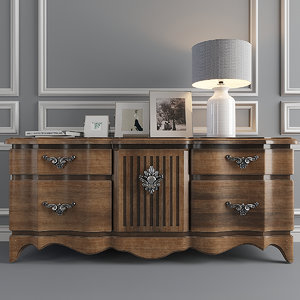 3D drawers luciano zonta commode