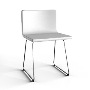 3D model bernhard ikea chair
