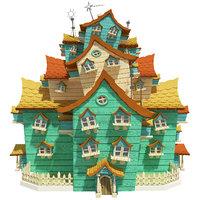 fantasy house 3D